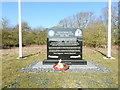 TM1375 : Memorial to Eye USAAF WW2 Airfield (detail) by Adrian S Pye