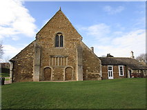 SK8608 : Oakham Castle, Great Hall from the east by Jonathan Thacker