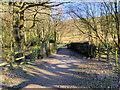 SD6220 : Trigg Lane, Bridge over the Goit by David Dixon