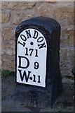 SE4712 : Mile Stone on Hall Lane, North Elmsall by Ian S