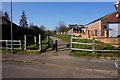 SE4316 : Former railway line off Woodhall Drive by Ian S