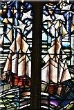 TM5286 : Kessingland, St. Edmund's Church: South window by Nicola Kantorowicz dedicated 22/8/2007  3 by Michael Garlick