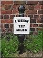 SE2933 : Old milemarker by Milestone Society