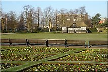 SJ9222 : Bowling Green in Victoria Park by Philip Halling