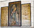 TF0638 : Commandment Boards, Ss Peter & Paul church, Osbournby by Julian P Guffogg