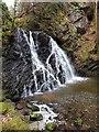 NH7258 : Lower waterfall, Fairy Glen, Rosemarkie by Rob Farrow