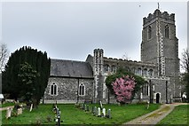 TL8866 : Great Barton: Holy Innocents Church by Michael Garlick
