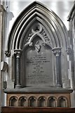 TL8866 : Great Barton: Holy Innocents Church: The Bunbury memorial in the chancel by Michael Garlick