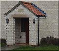 TF0133 : Porch with datestone by Bob Harvey