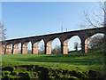 SJ7767 : Southern end of Twemlow Viaduct by Stephen Craven