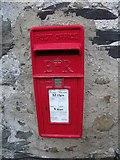 SH6268 : Elizabeth II Post  box, Llanllechid by Meirion