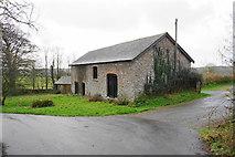 SS6138 : Barn at Loxhore by Bill Boaden