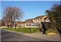 SE4610 : Fingerpost on Westfield Lane, South Elmsall by Ian S