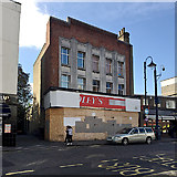 TQ3370 : Boarded-up shop, Westow Hill, Upper Norwood, south London by Robin Stott