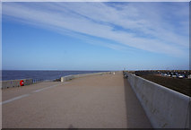 SD3145 : Lancashire Coastal Way at Larkholme by Ian S