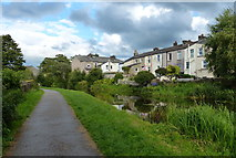 SD4861 : Houses along the Lancaster Canal in Lancaster by Mat Fascione