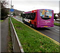 ST3091 : X3 bus on Malpas Road, Newport by Jaggery