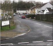 ST2896 : South along Meadowbrook Avenue, Cwmbran by Jaggery