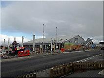 NG6423 : Broadford Co-op - new petrol station by Richard Dorrell