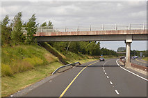 S6661 : Bridge over the northbound M9 by David Dixon