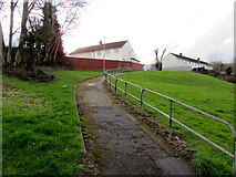 ST2896 : Path to Wentwood Close, Cwmbran by Jaggery