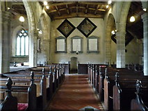 SO2459 : St. Stephen's Church (Nave | Old Radnor) by Fabian Musto