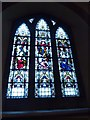 TQ1164 : St Peter, Hersham: stained glass window (d) by Basher Eyre