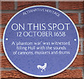 TA1130 : Alternative Heritage Blue Plaque by Ian S