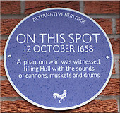 TA1130 : Alternative Heritage Blue Plaque by Ian S