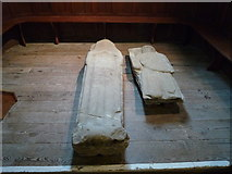 SO2160 : Tombs inside St. Mary's Church (New Radnor) by Fabian Musto