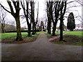 SO0602 : Path through a small park in Troedyrhiw by Jaggery