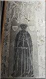 TF4024 : Memorial brass, St Mary Magdalene church, Gedney by Julian P Guffogg