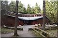 NJ6921 : Bennachie visitor centre by Bill Harrison