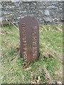 SH6674 : LNWR boundary post, Llanfairfechan by Meirion