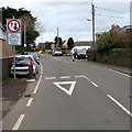 SM9516 : Traffic calming on Cardigan Road, Haverfordwest by Jaggery