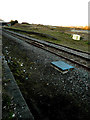 SP9068 : Disused platform, Wellingborough Station by John Baker