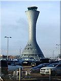 NT1473 : NATS tower at Edinburgh Airport by Thomas Nugent