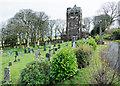 NY0519 : St Michael's church at Arlecdon by Trevor Littlewood