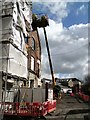 SJ9594 : Demolition work on Mount Street by Gerald England