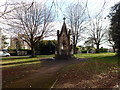 ST5673 : Victorian Drinking Fountain on Clifton Down by Eirian Evans