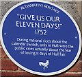 TA0729 : Alternative Heritage Blue Plaque by Ian S