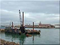 SZ6299 : Portsmouth Harbour by Robin Webster
