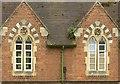 SO8418 : St Margaret's Almshouses – detail by Alan Murray-Rust