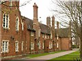 SO8418 : St Margaret's Almshouses, west wing by Alan Murray-Rust