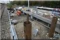 SU5886 : More pilings by Bill Nicholls