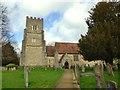 TQ4857 : St Botolph's Church in Chevening by John P Reeves