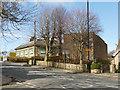 SE2236 : Back of Rodley Lane transformer station by Stephen Craven