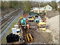 "SD8402 : Construction of ""Turnback"" at Crumpsall Metrolink Station by David Dixon"