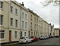SO8318 : Oxford Street, Gloucester, east side looking south by Alan Murray-Rust