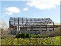 SE2234 : Steel framed building under construction by Stephen Craven
